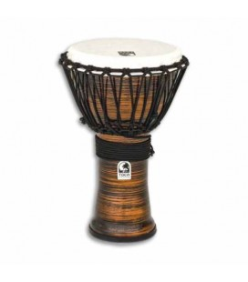 Djembe Toca Percussion TF2DJ 9SC Freestyle II Afinação Cordas Spun Copper