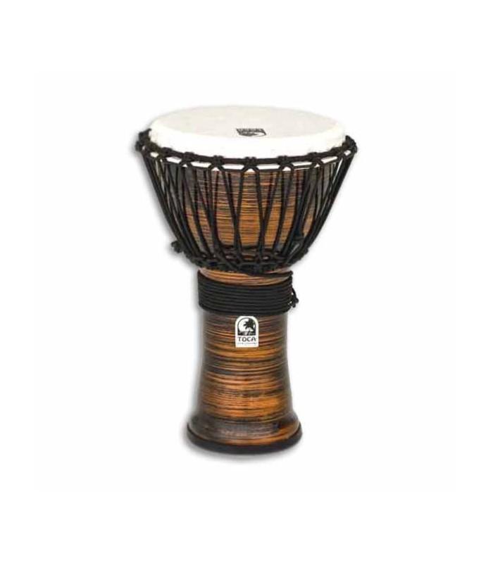 Djembe Toca Percussion TF2DJ 9SC Freestyle II Afinación Cuerdas Spun Copper