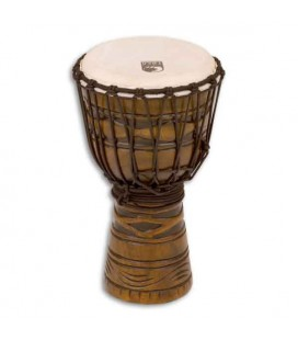 Djembe Toca Percussion TODJ 8AM Origins Series Wood Rope Tuned