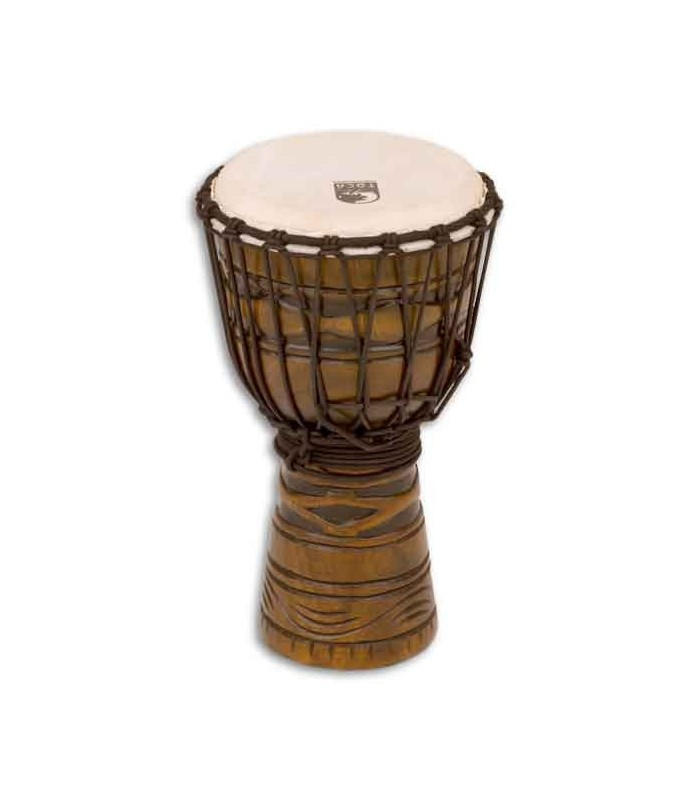 djembe toca percussion todj 8am origins series wood rope tuned. Black Bedroom Furniture Sets. Home Design Ideas