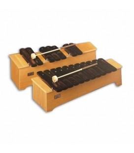 Xilófono Honsuy 49630 Soprano Cromático Dó a  Fá