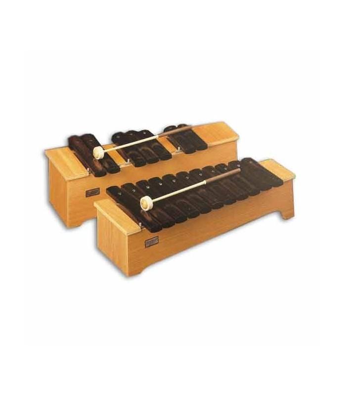 Honsuy Soprano Chromatic Xylophone 49630 c to f