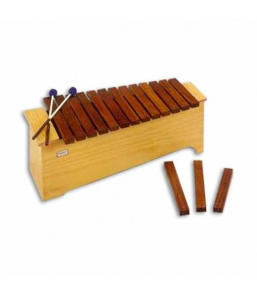 Honsuy Xylophone 49060 Alto Diatonic C to A with Mallets