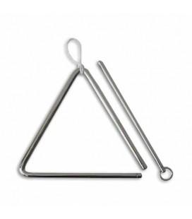 Triangulo Honsuy 47800 16cm Acero con Baqueta