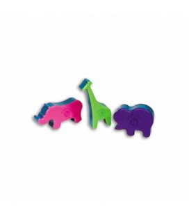 LP 3 Piece Set LPR472I Animal Shakers Rhythmix