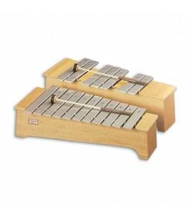 Metalofone Honsuy 49730 Soprano Cromático Dó Fá