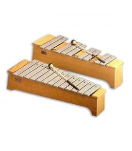 Metalofono Honsuy 49740 Soprano Cromático Dó a Lá