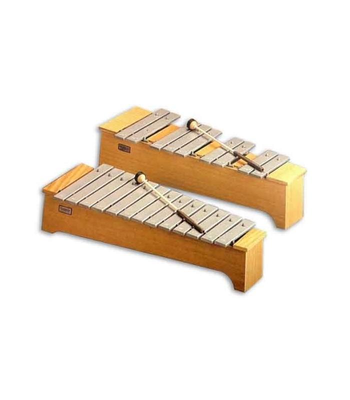 Metalofone Honsuy 49740 Soprano Cromático Dó a Lá