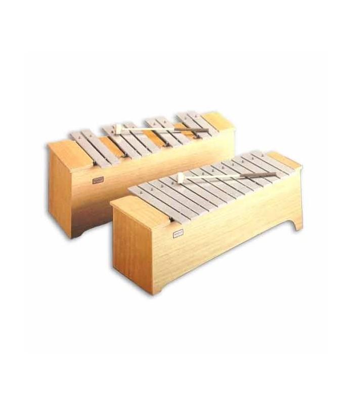 Honsuy Alto Chromatic Metallophone Honsuy 49720 c to a
