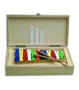 Goldon Glockenspiel 11035 C3 G4 with Wood Case