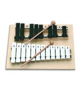 Glockenspiel Goldon 11070 Soprano Cromático Dó Sol