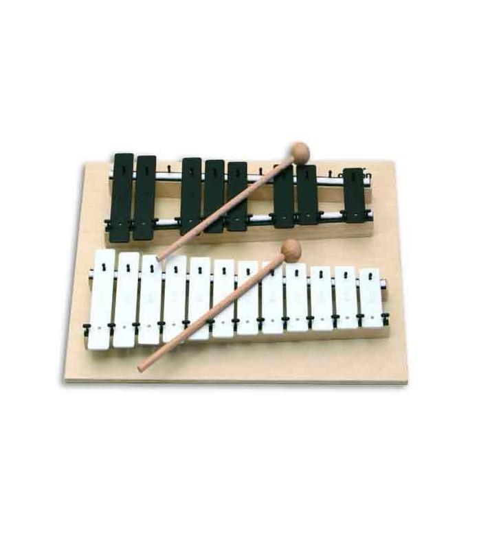 Jogo de Sinos Goldon 11070 Soprano Cromático Dó Sol
