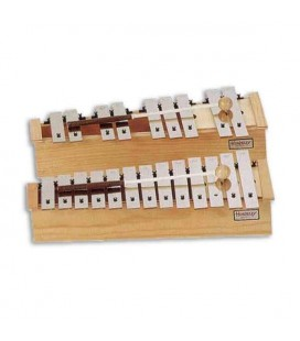Honsuy Diatonic Glockenspiel 49530 Alto Chromatic Wooden