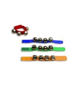 Photo of 4 wrist sleigh bells Goldon 33400 several colors