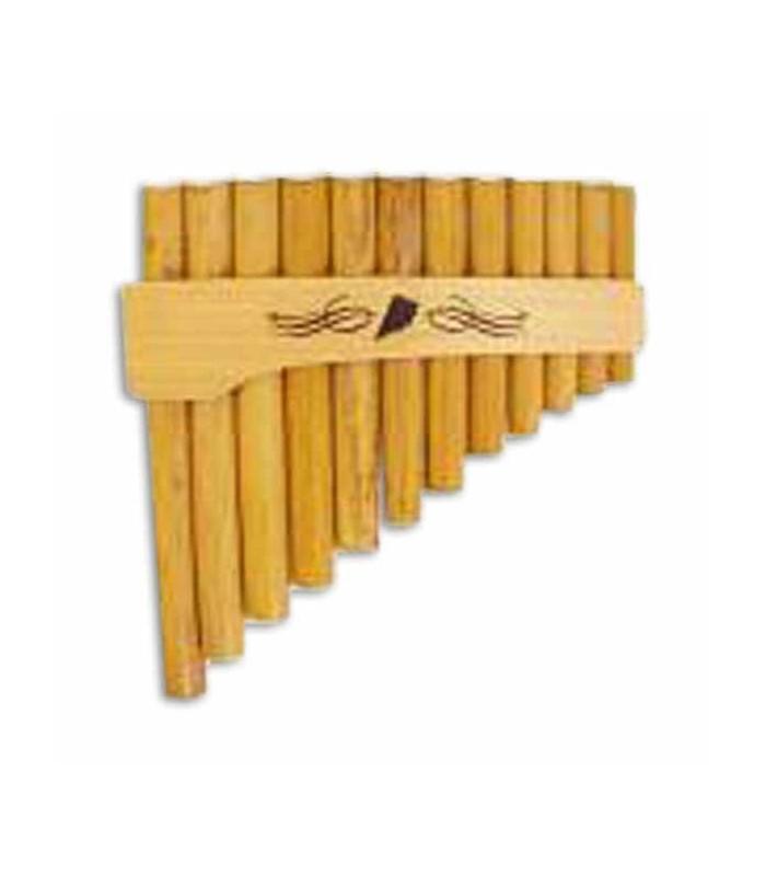 Flauta de Pan Schwarz 0 055F Lá Ré Curva