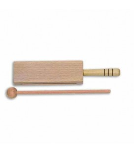 Goldon Wood Block 33310 18cm Natural with Handle