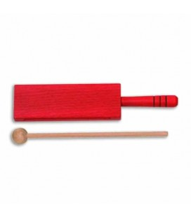 Photo of the Woodblock Goldon model 33314 18cm Red Wood with Handle