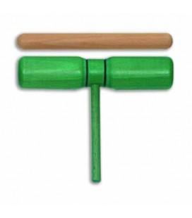Bloco de 2 Sons Goldon 33126 Madeira Verde com Batente