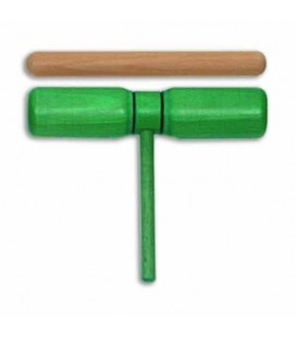 Goldon Two Tone Green Wood 33126 with Mallet