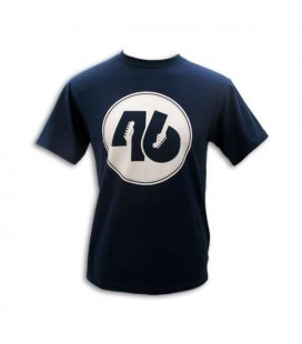 Camiseta Fender Azul 46 Círculo Size L