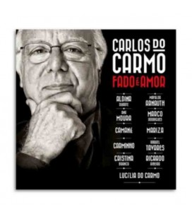 Sevenmuses CD Carlos do Carmo Fado é Amor with CD and Dvd