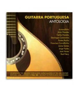 Capa do CD Guitarra Portuguesa Antologia
