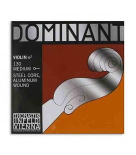 Corda Individual Thomastik Dominant 130 para Violino 4/4 1ª Mi