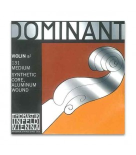 Corda Individual Thomastik Dominant 131 para Violino 4/4 2ª Lá
