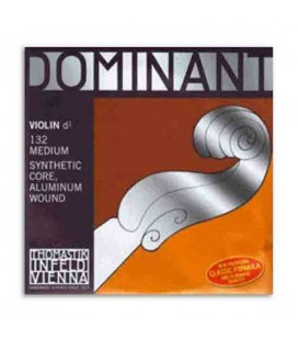 Corda Individual Thomastik Dominant 132 para Violino 4/4 3ª Ré