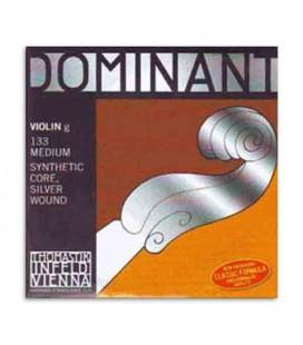 Cuerda Thomastik Dominant 133 para Violín 4/4 4ª Sol