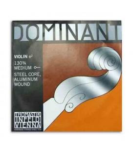 Corda Individual Thomastik Dominant 130 para Violino 3/4 1 Mi