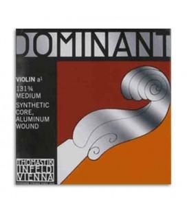 Corda Individual Thomastik Dominant 131 para Violino 3/4 2ª Lá