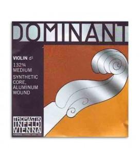 Corda Individual Thomastik Dominant 132 para Violino 3/4 3ª Ré