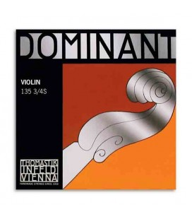 Corda Individual Thomastik Dominant 133 para Violino 3/4 4ª Sol
