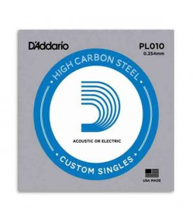Daddário Electric or Acoustic Guitar Individual String 010 Steel