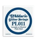 Daddário Electric or Acoustic Guitar Individual String 011 Steel