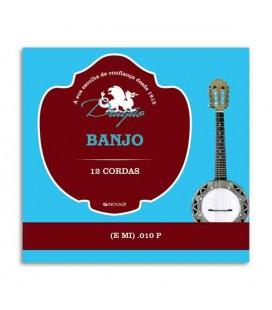 Corda Individual Dragão 888 para Banjo .010 1ª Mi