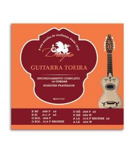Dragão Viola Toeira Strings Set 012