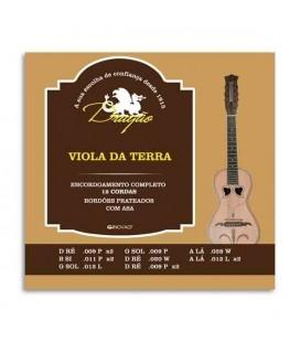 Juego de Cuerdas Dragão 068 Viola da Terra 12 Cuerdas