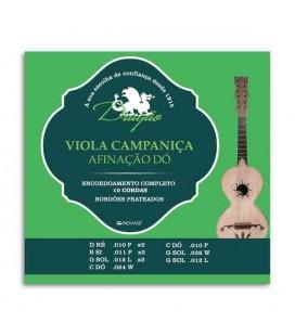 Juego de Cuerdas Dragão 011 para Viola Campaniça Do 10 Cuerdas