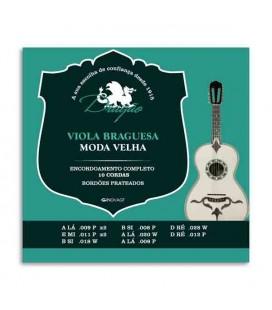 Dragão 10 Strings Viola Braguesa String Set 001 Moda Velha Tuning with Loop End