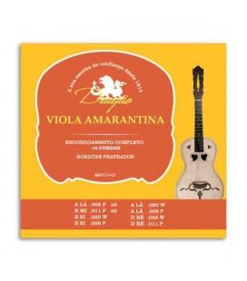 Jogo de Cordas Dragão 013 para Viola Amarantina 10 Cordas