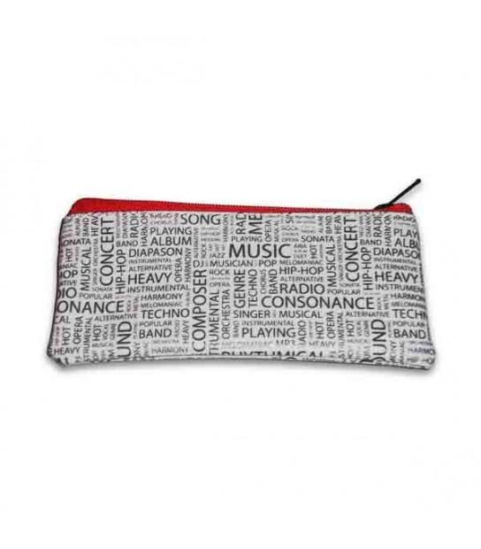 money pockets purses wallets decorated musical motifs, - Salão