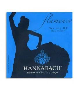 Juego de Cuerdas Hannabach E827HT para Guitarra Flamenco Tensión Alta