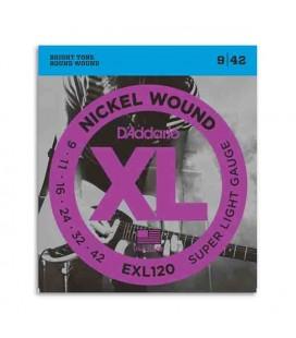 Jogo de Cordas Daddário EXL120 009 042 para Guitarra Elétrica