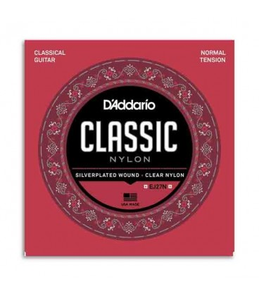 Daddário Classical Guitar String Set EJ27N Nylon