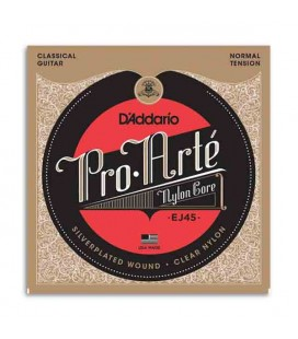 Daddário Classical Guitar String Set EJ45 Nylon