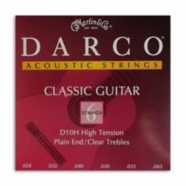 Jogo Cordas Martin Darco D10H Guitarra Clássica Nylon
