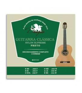 Juego de Cuerdas Dragão 027 para Guitarra Clásica Supreme Nilón Negro