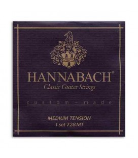 Hannabach String Set E728MT Classical Guitar Nylon Medium Tension